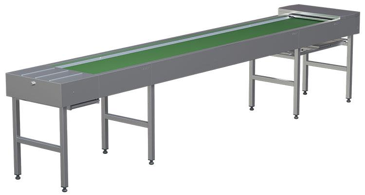 Транспортер для сбора использованной посуды двухзвенных гусеничных транспортеров дт 3пм