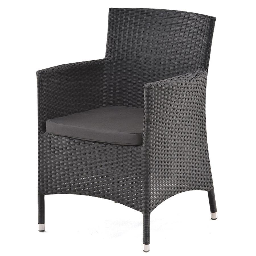 Кресло из искусственного ротанга  магазине